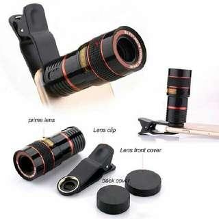 8X Zoom Telescopic Lens