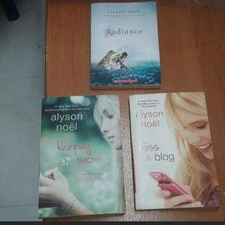 Alyson Noel novels