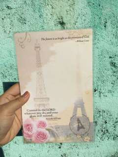 Cute Paris Note Pad