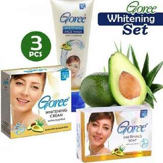 Goree Set With Facial Wash