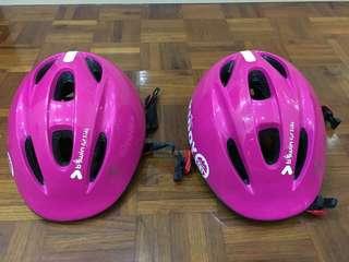 BTWIN Kids Bicycle Helmet - 2 helmets
