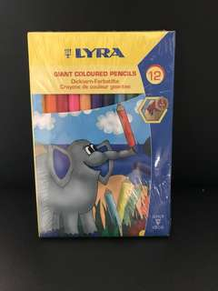 Lyra giant colored pencils (5mm lead)