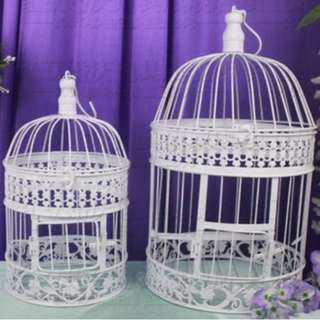 Rental: Bird cage for ang bao or decoration - Dessert Table Props Rentals OR Set up Service available