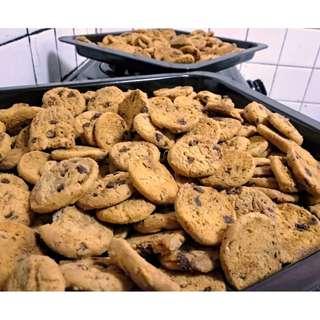 Chocolate Chip Cookies Raya Bajet