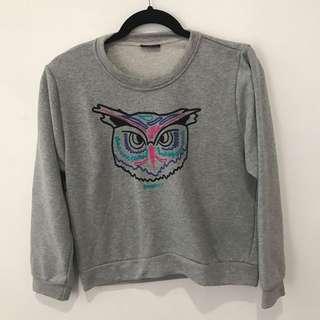 grey owl sweatshirt