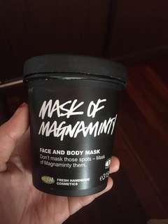 Preloved LUSH mask of magnaminty