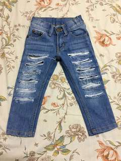 Tattered/Ripped Jeans for toddlers/kids