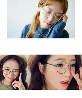 Round glasses spectacles