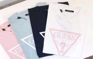 Guess 大熱粉色t-shirt 18新款🔥