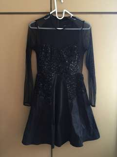Fcuk black party dress