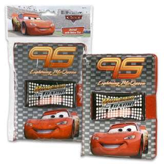 DISNEY CARS JOURNAL WITH VELCRO TAB