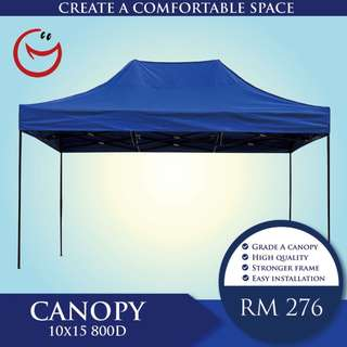 Canopy High Quality10'x15' 800D Night Bazaar Street Hawker Portable Outdoor Tent Khemah
