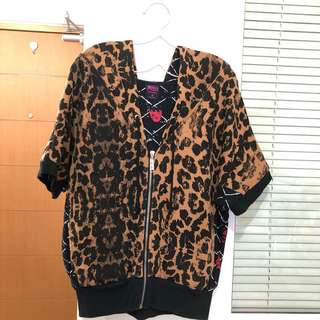 Abbey dawn leopard the right notes hoodie