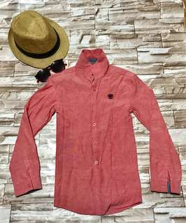 Fuchsia Red Long sleeves (boys 4-5 years old)