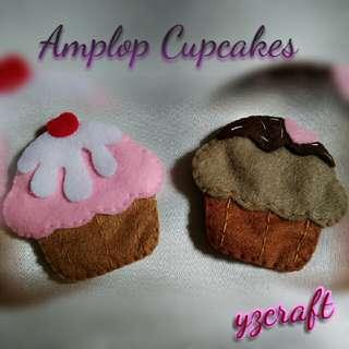 Amplop lebaran cupcakes