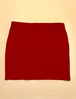 Pre-Loved. ZARA Red mini skirt
