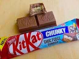 3's Kitkat Chunky Choc Fudge Sundae