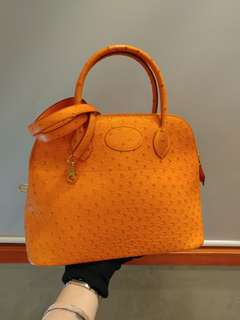 Hermes bolide 31 ostrich