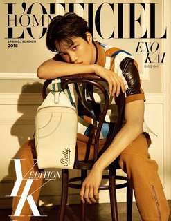 Kai - L'Officiel Hommes Magazine