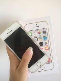16GB GOLD IPHONE 5S