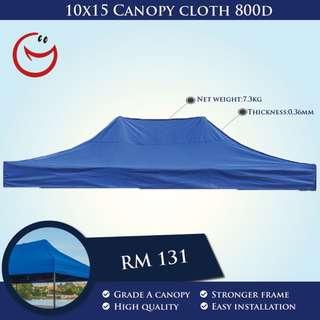 Canopy Cloth High Quality10'x15' 800D Night Bazaar Street Hawker Portable Outdoor Tent Khemah