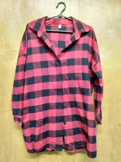Women Checkered longsleeve