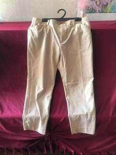 Uniqlo cotton pants trousers