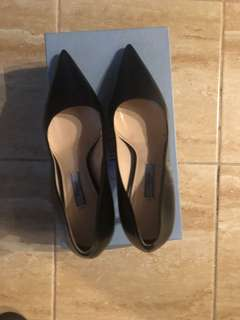 Prada saffiano shoes