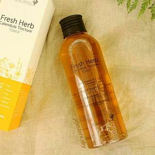 (FREE ONGKIR*) NATURAL PACIFIC Fresh Herb Calendula Tincture Toner