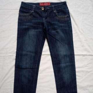 Jinmoss Low Waist Pants