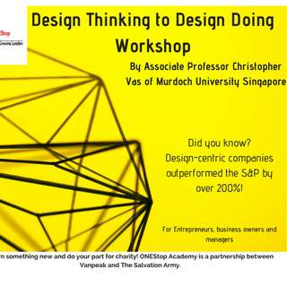 [Charity] Design Thinking to Design Doing for Customer Engagement