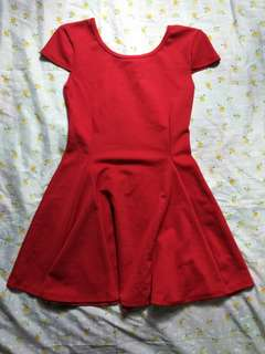 Red dress for teens