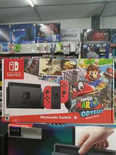 🆕 Nintendo Switch Console ( Local set )