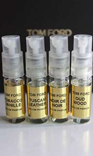 Tom Ford deluxe sample size 4ml - tuscan leather