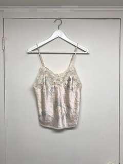Christian Dior lace cami