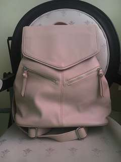 Pinkish nude backpack