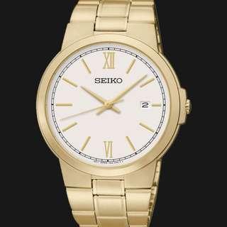 Seiko Classic SGEG50P1 Men Jam Tangan Pria SGEG50 Gold Original