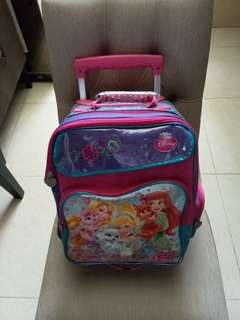 Disney Princess trolley school bag