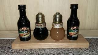 Baileys & miniature liquor bottles