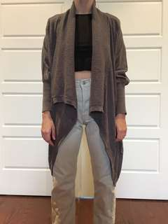 ARITZIA WILFRED ASYMMETRICAL SWEATER