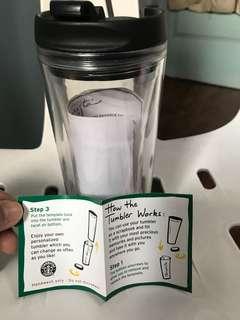 Scrap Book Tumbler by Starbucks