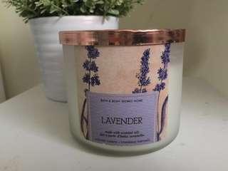 Bath & Body Works Lavender Candle