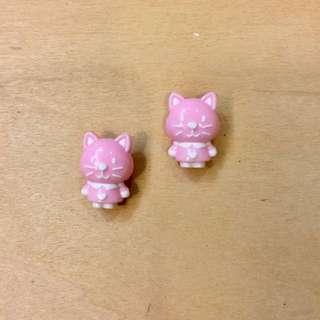 [DIY串珠]小貓珠珠(2入)