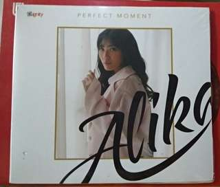 CD ALBUM ALIKA PERFECT MOMENT