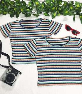 Sofie Stripes Top