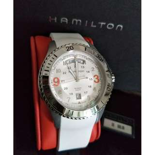 Hamilton Women's Watch White – Brand New