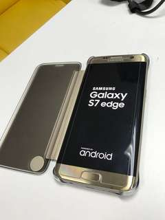Samsung Galaxy edge gold