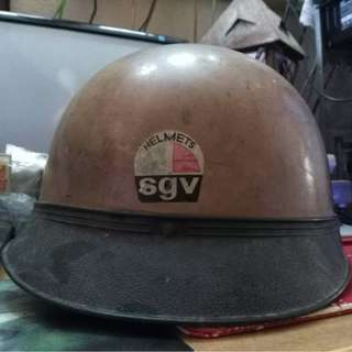 Vintage Sgv Passola Coco Steng Helmet