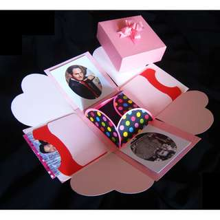 Explosion Photos Gift Box DIY birthday