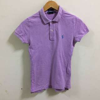 Ralph Lauren Polo Shirt Size XS The Skinny Polo